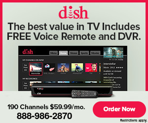Toll Free Phone Number for Satellite TV & Internet with DISH in California